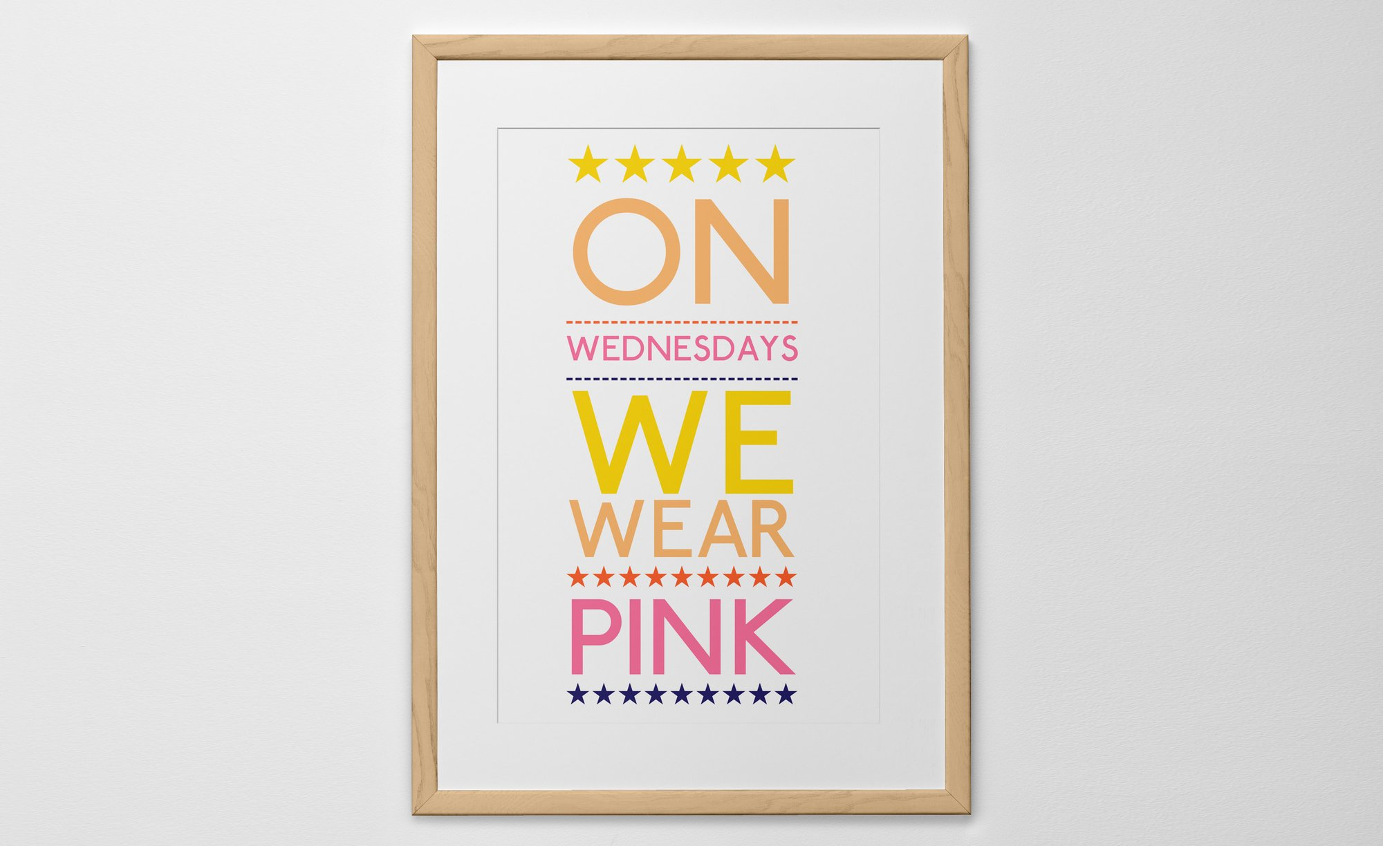 personalized big text print poster or canvas posterhaste