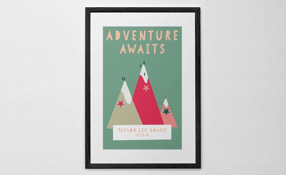 Personalised Art Print or Poster - Dream Big