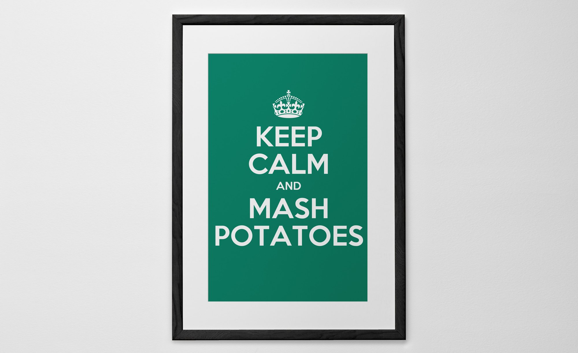 Personalized Art Print or Poster - Keep Calm and ...