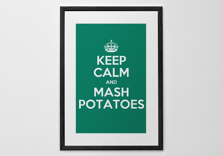 Personalised Art Print or Poster - Keep Calm and ...