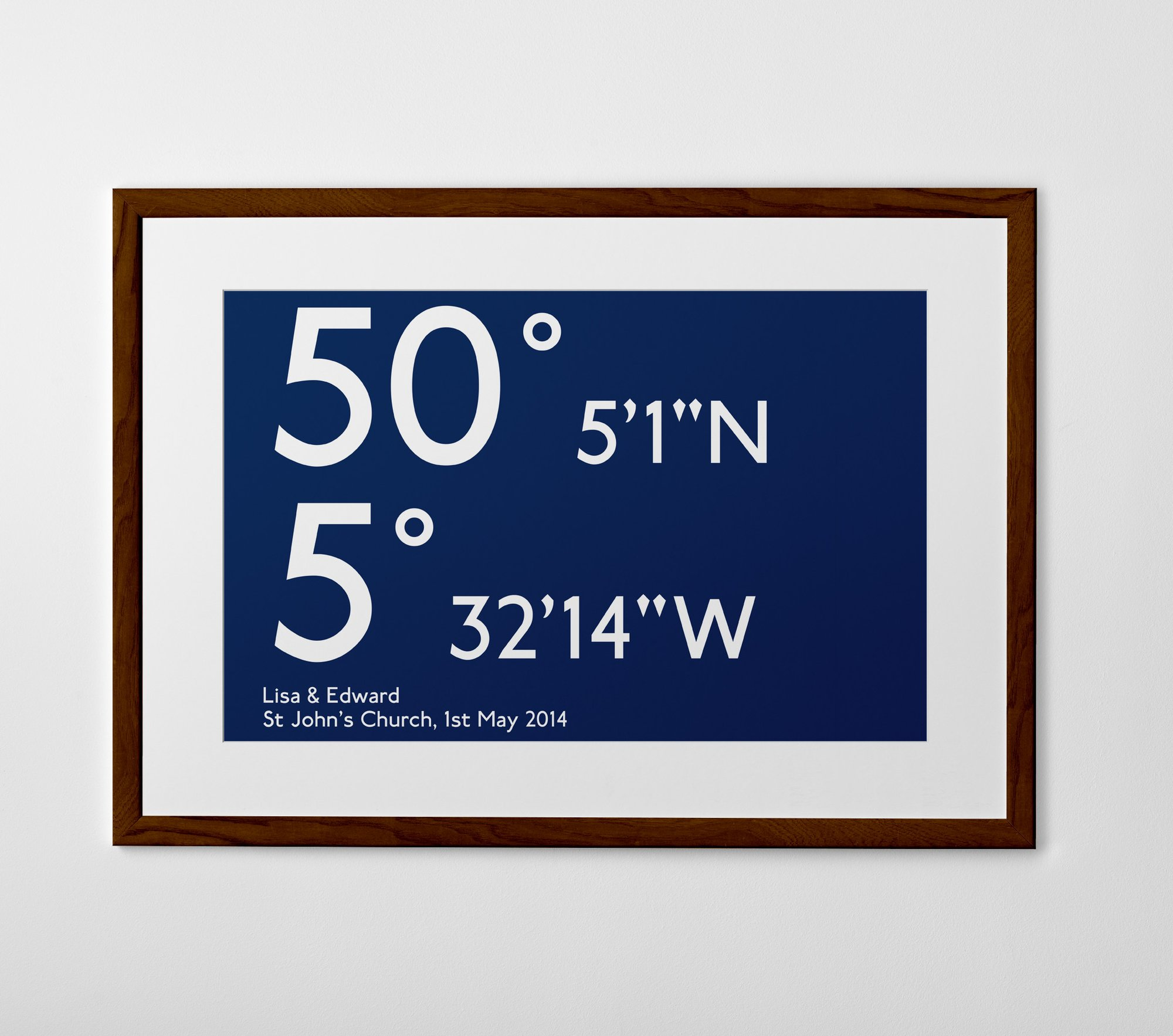 personalized coordinates print poster or canvas posterhaste