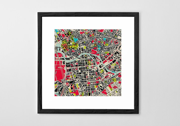 Personalized Art Print or Poster - Map Print