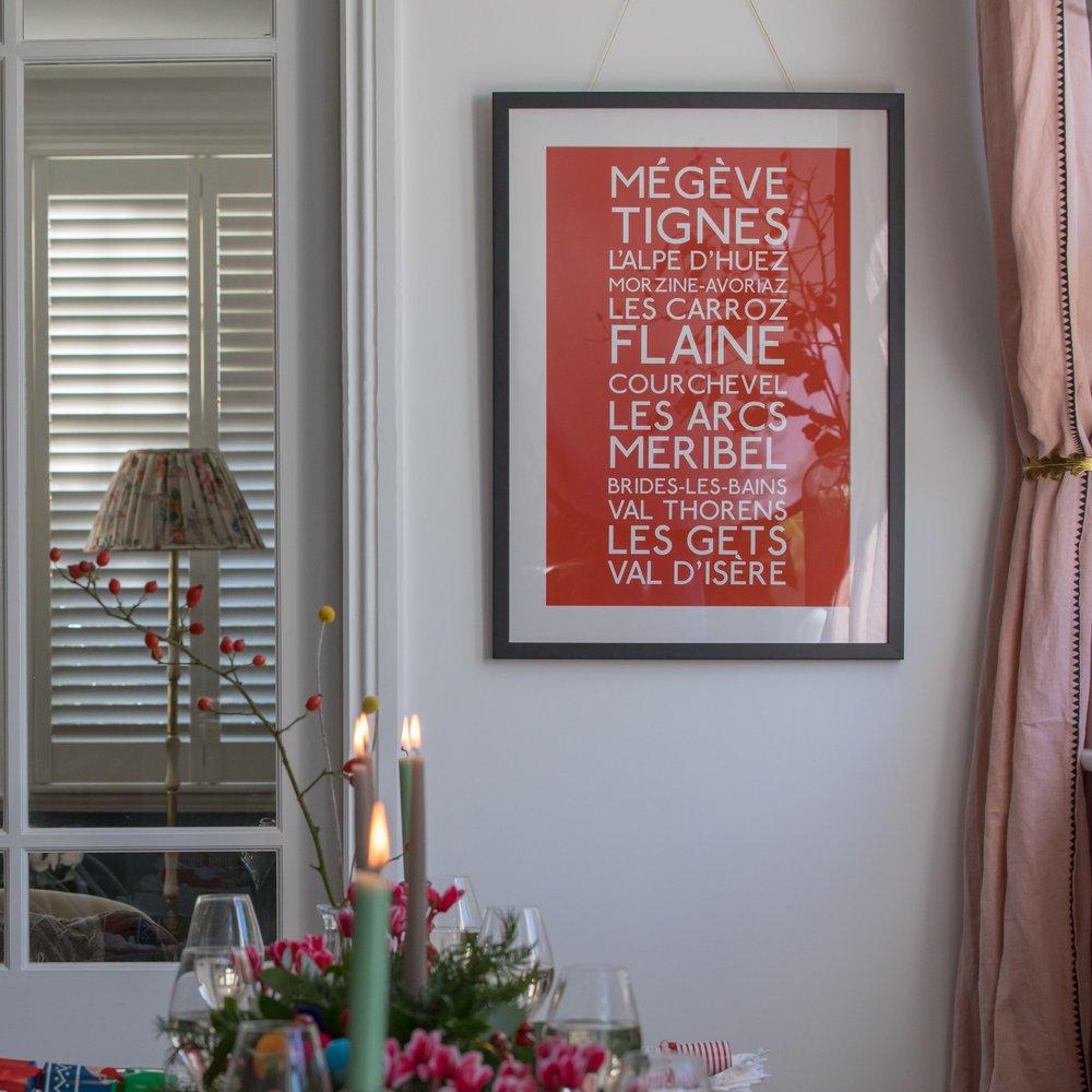 Personalised Art Print or Poster - Underground