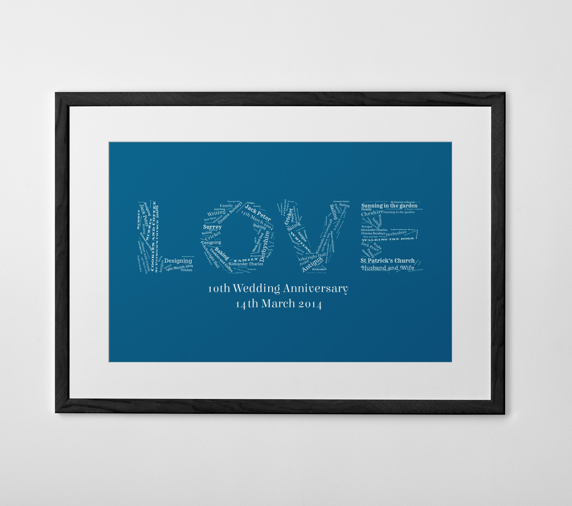 Personalized Words on Words Print, Poster or Canvas - Posterhaste