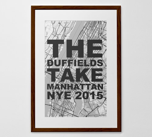 Personalized wordy map print poster or canvas posterhaste